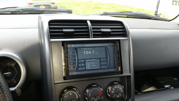 Honda Element Touch Screen Installation