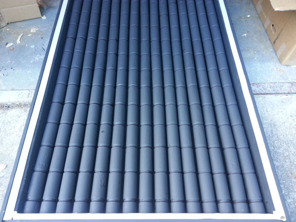 Solar Can Box Heater